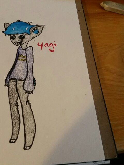 So, this is what my Persona looks like. I haven't made a ref yet but I will soon