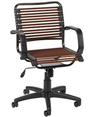 Beautiful The Greatest Chair Ever! The Container Store Chocolate Flat Bungee Office  Chair With Arms