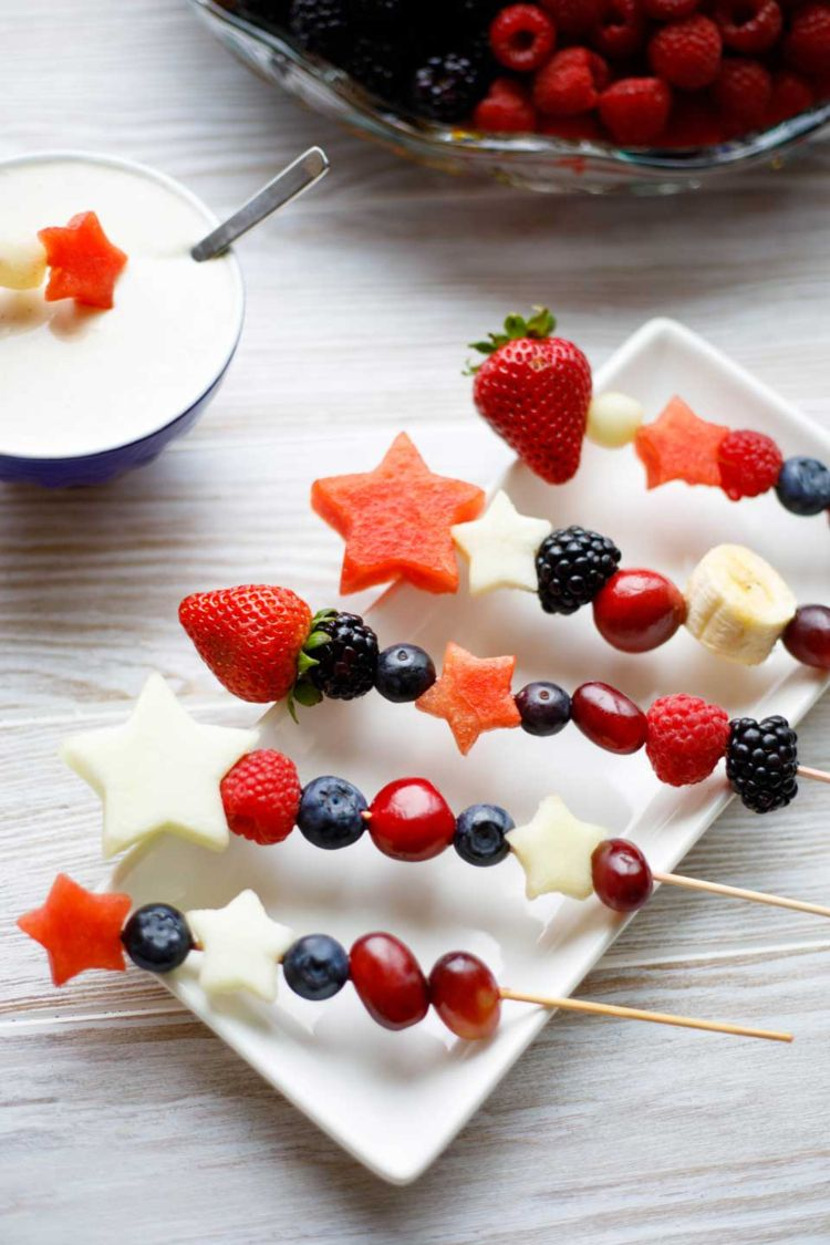 Photo of Fruit skewers for children: How to arrange fruit creatively at the children's table – decoration house