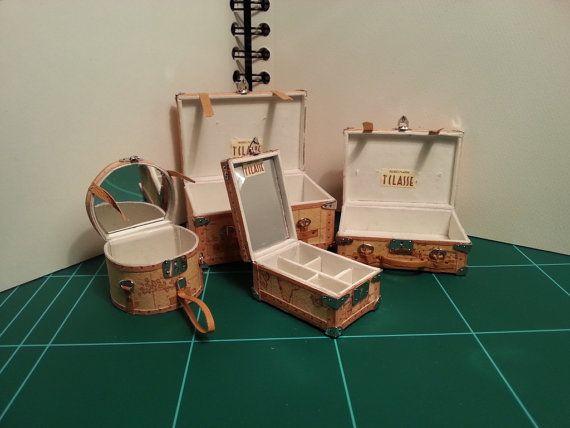 ••  Alviero martini conjunto de maletas en por CHRISERMINIATURAS