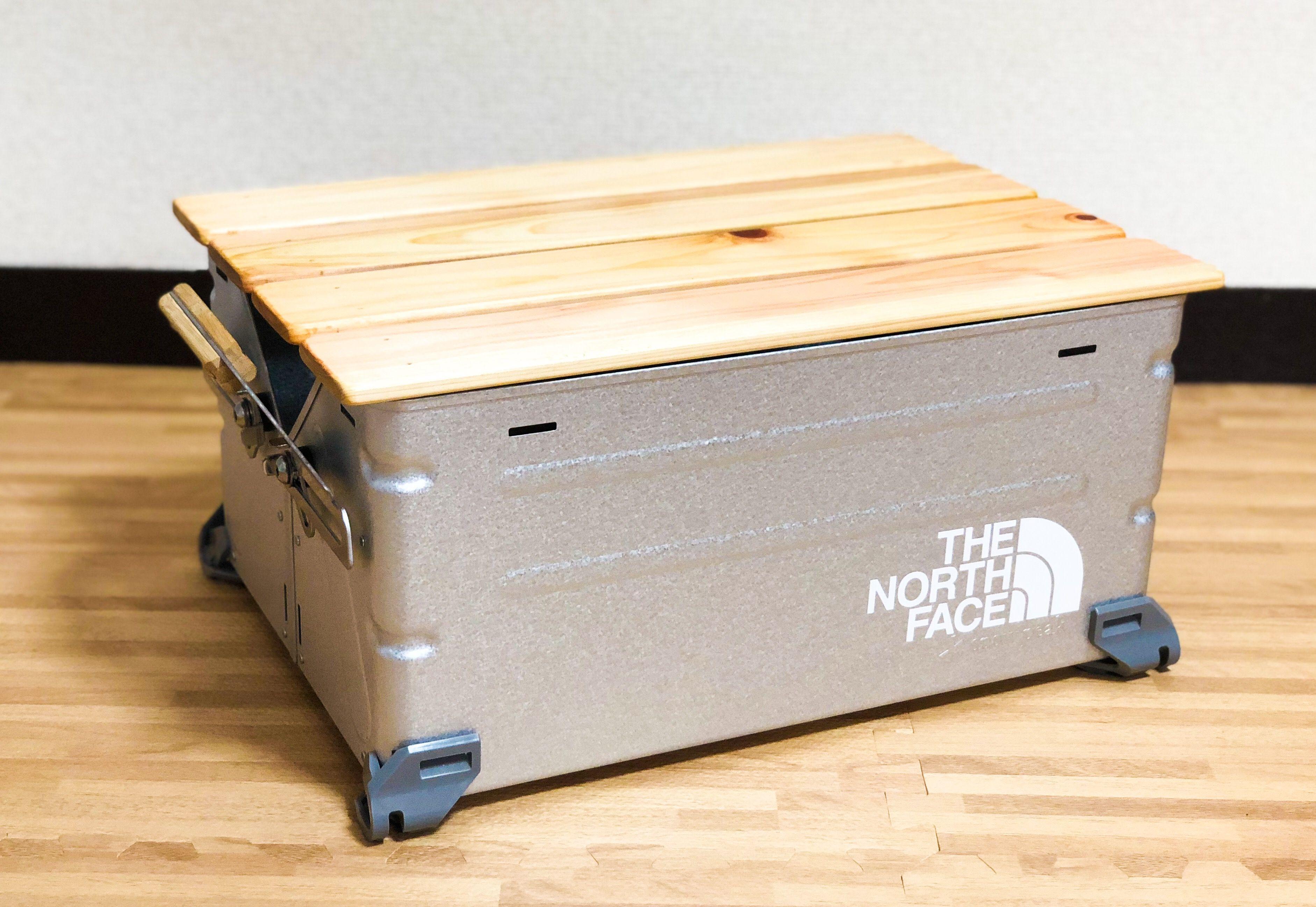 シェルフコンテナ25の天板を自作 と思ったらシンデレラフィットする アレ があったのでセミdiyしてみた Mini Camper S Life シェルフコンテナ シンデレラフィット ロールトップテーブル