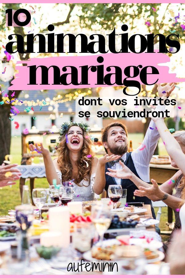 10 idées d'animation de mariage pour impressionner (et amuser) les invités   – mariage