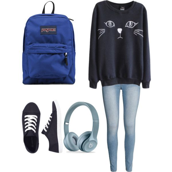 High School-Cat-Grey