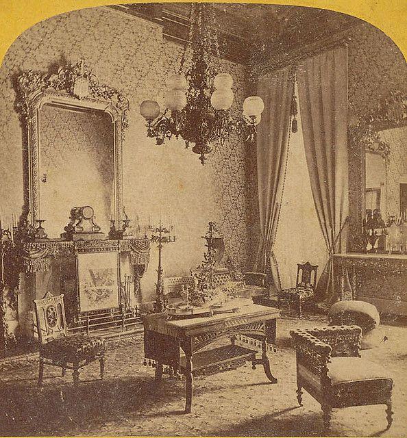"""""""Greenroom White House 1850's"""""""