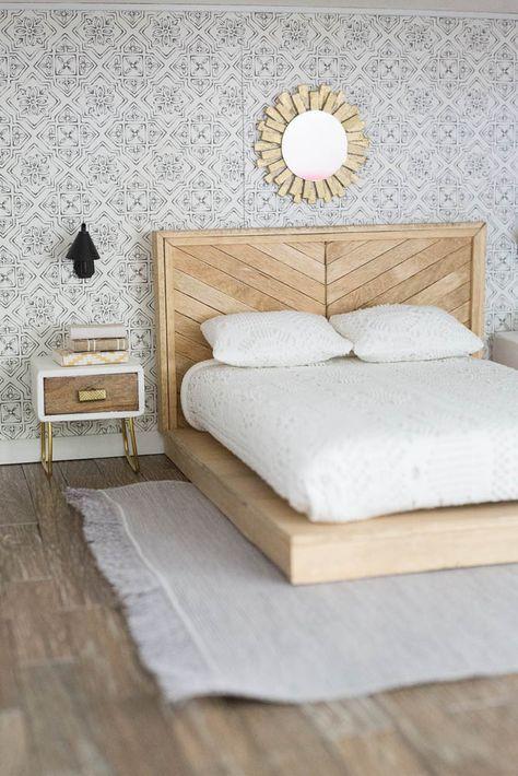 dollhouse master bedroom