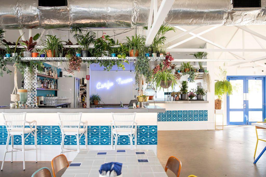 Spero Greek Restaurant Interior Design H G Designs Build Cross