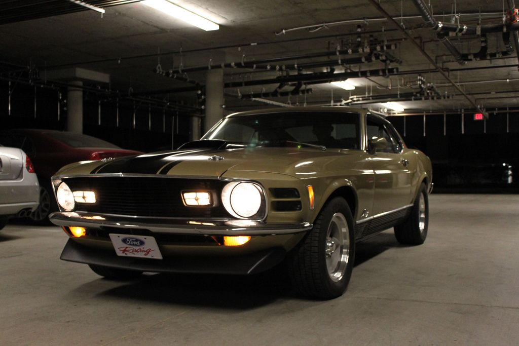 Early 70\'s Mustang in a Parking Garage. | True Muscle Cars ...