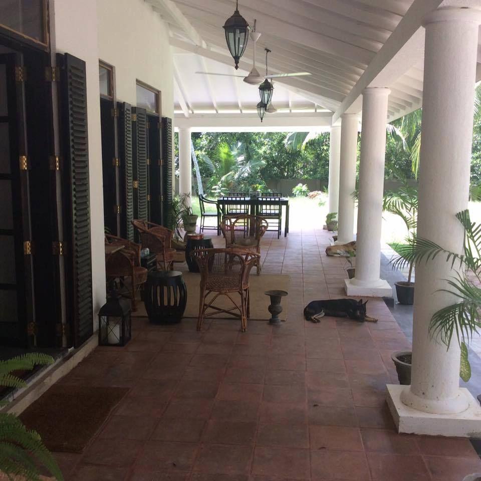 Colombo Sri Lanka Tile Designs: Veranda Design - Sri Lanka