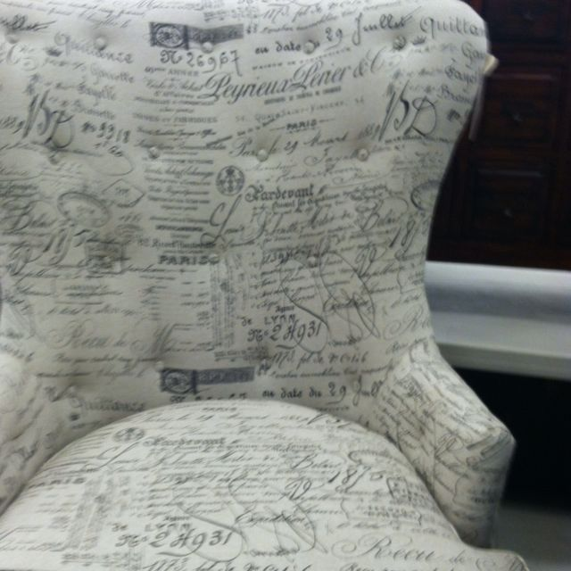 Accent Chair In Revenge: Victoria Grayson's Chair From Revenge At Marshall's