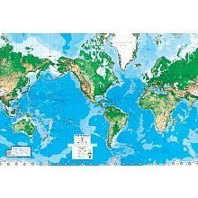 World map paper wall mural by environmental graphics httpwww world map paper wall mural by environmental graphics httpamazon gumiabroncs Choice Image
