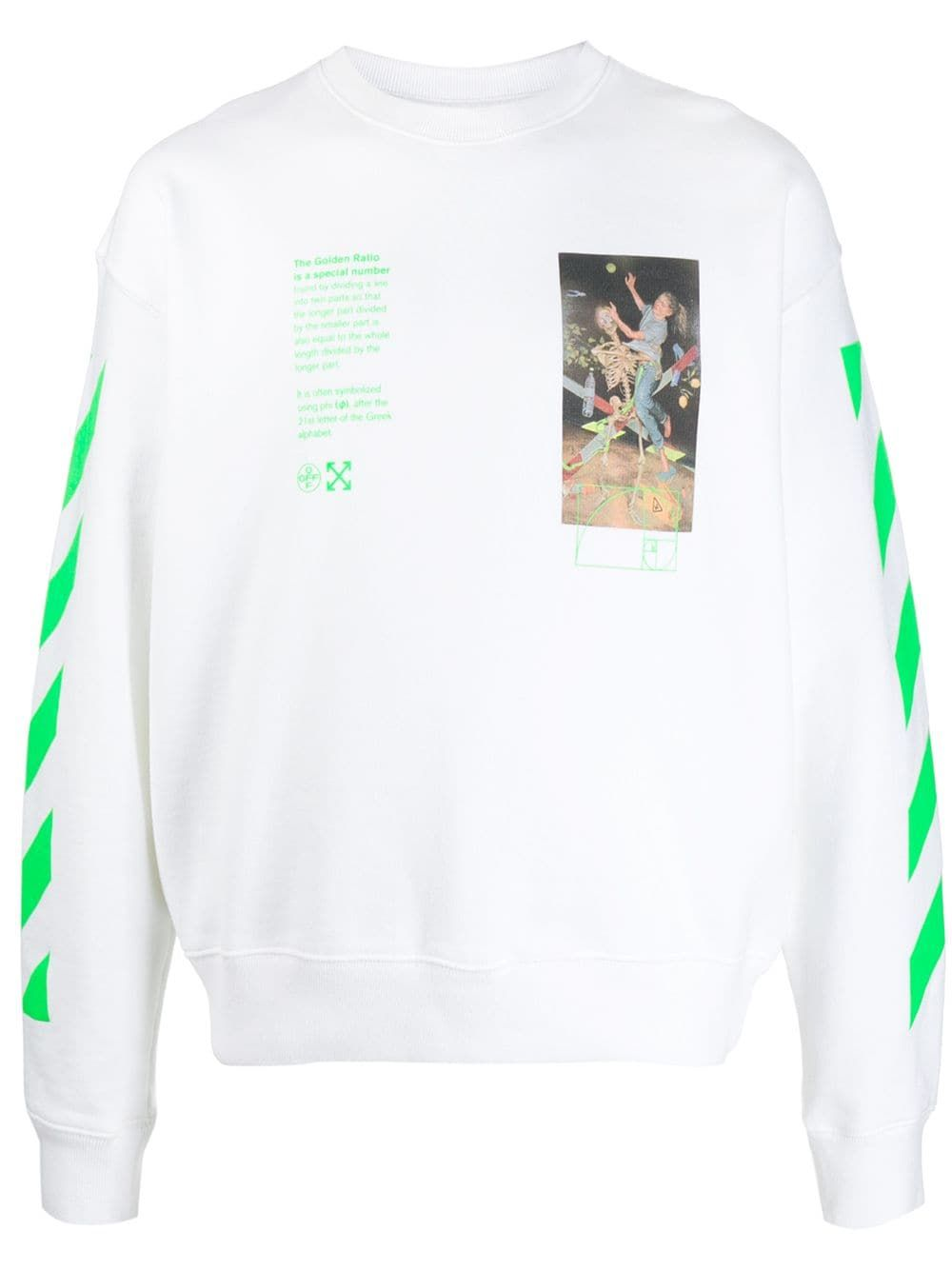 Off White Pascal Painting Print Sweatshirt Farfetch In 2020 Printed Sweatshirts Sweatshirts Off White [ 1334 x 1000 Pixel ]