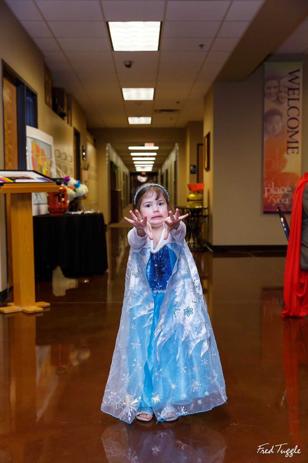 Halloween Wedding | Photograph by Fred Tuggle Photography