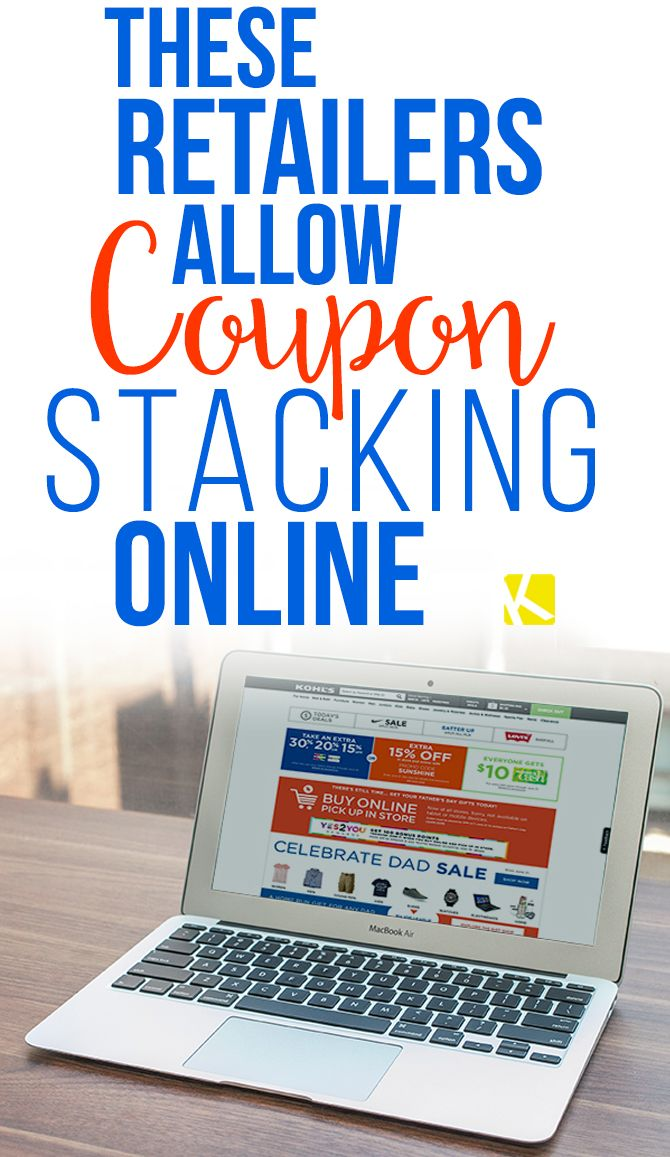 These Retailers Allow Coupon Stacking Online Best money