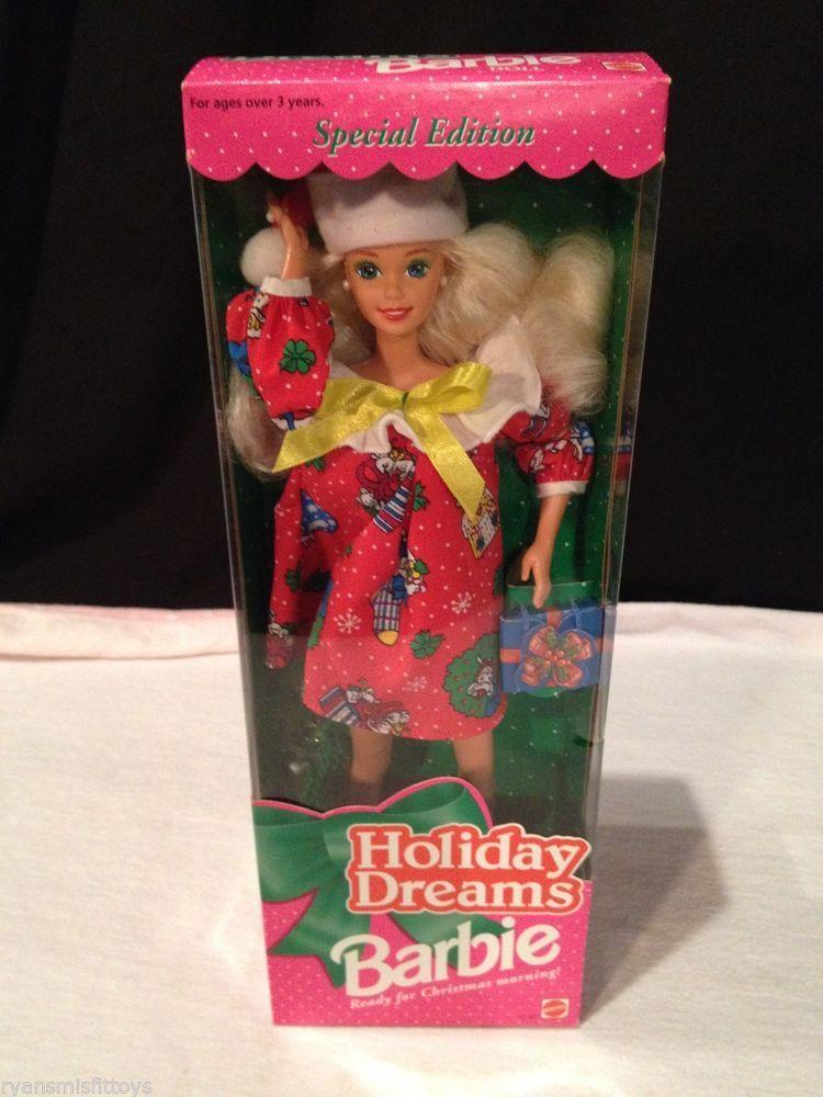 Barbie Doll HOLIDAY DREAMS Special Edition #12192 1994 Mattel Christmas NRFB #Mattel