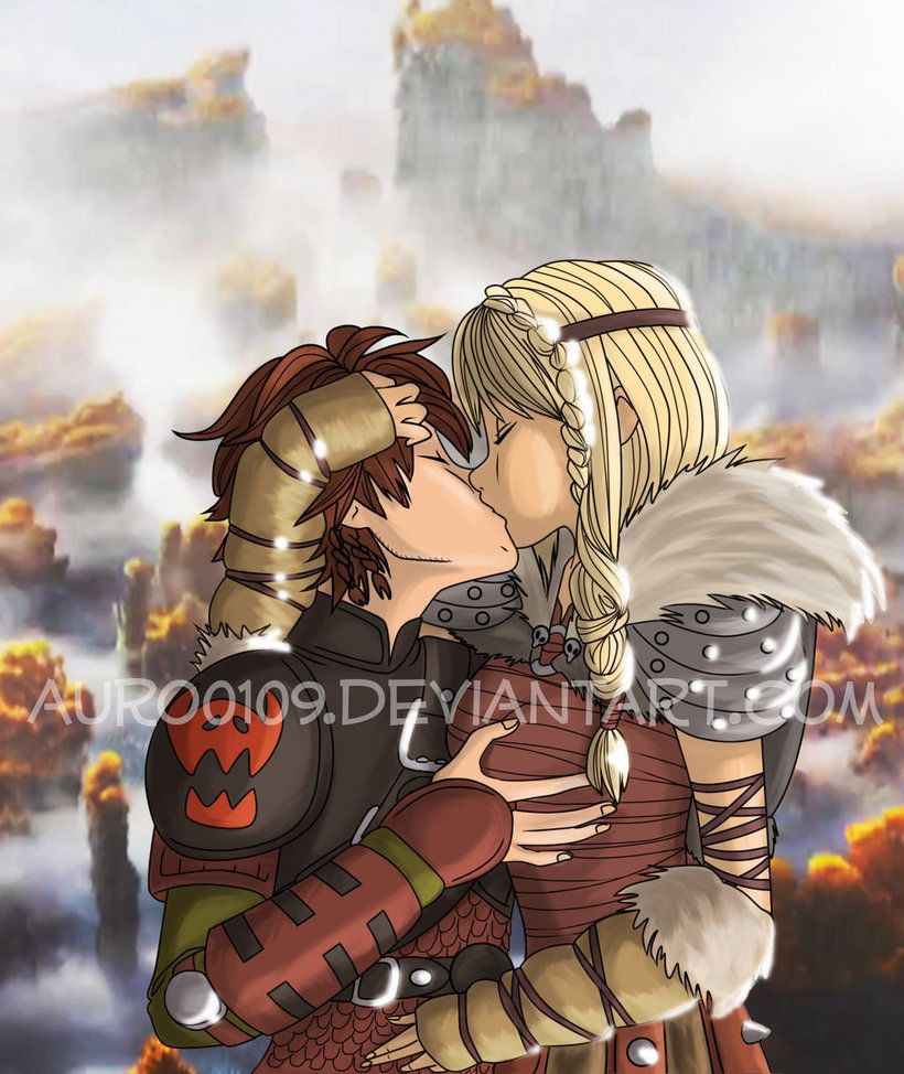 It Was Bothering Me The Sizes Of Their Heads And Hiccup's Hand, And The  Shadows · Hiccup And Astriddisney Shipsdreamworks Animationlove Kissdragon 2 Train