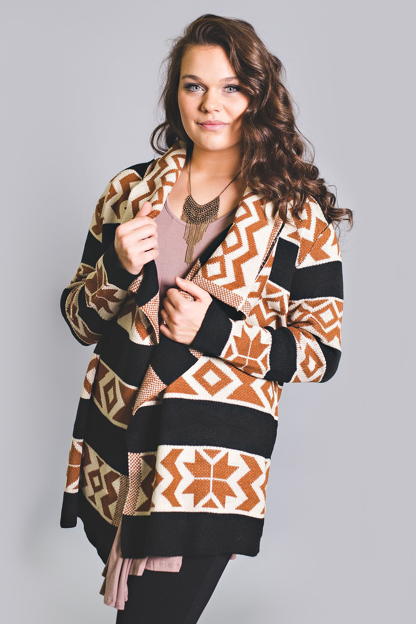 Down In Texas Aztec Printed Sweater - NanaMacsBoutique