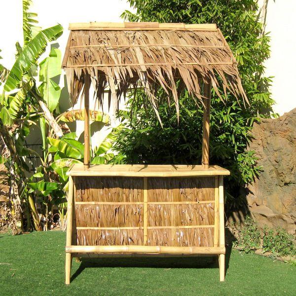 Nipa Outdoor Bamboo Tiki Bar Outdoor Patio Bamboo Tiki Bar ...