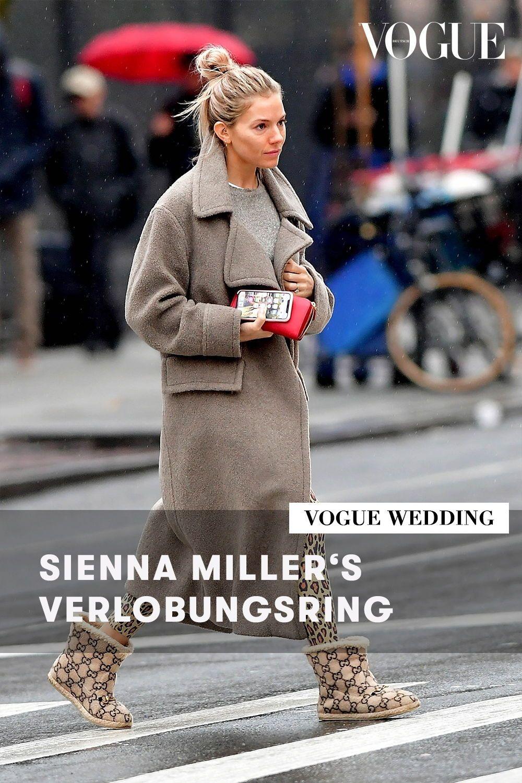 Sienna Miller Zeigt Ihren Verlobungsring Und Die Must Have Schuhe Der Saison Ring Verlobung Sienna Miller Verlobungsring