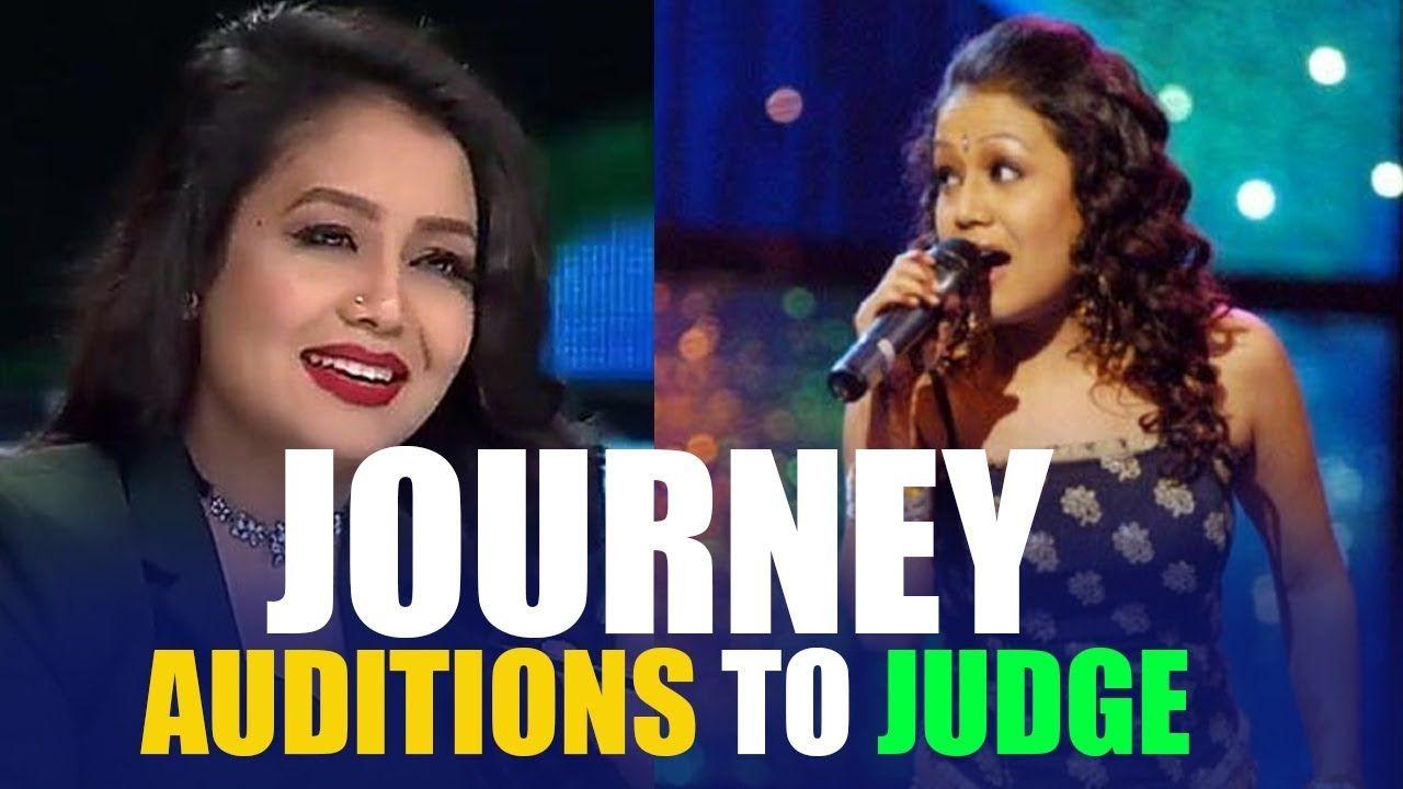 Neha Kakkar Journey From Contestant To Judge Indian Idol 2018 Indian Nehakakkar Indianideol2018 Bollywood Indian Idol Neha Kakkar Idol