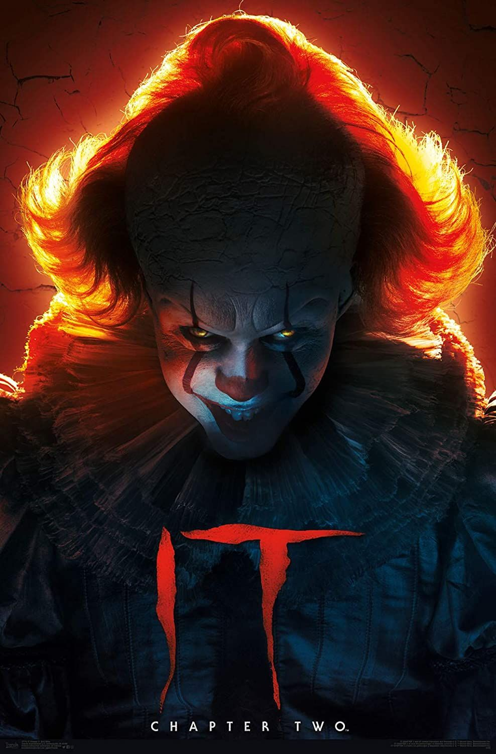 Art Poster 317 It Chapter 2 Pennywise 2019 Stephen King Horror Movie