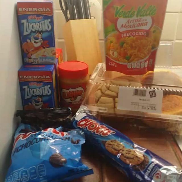 La comida que compramos en la Soriana #SXTNvideos #SXTNcomida