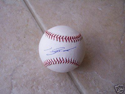 Tadahito Iguchi Autographed Baseball - Sd Padres Official Ml - Autographed Baseballs by Sports Memorabilia. $102.00. TADAHITO IGUCHI SD PADRES SIGNED OFFICIAL ML BALL