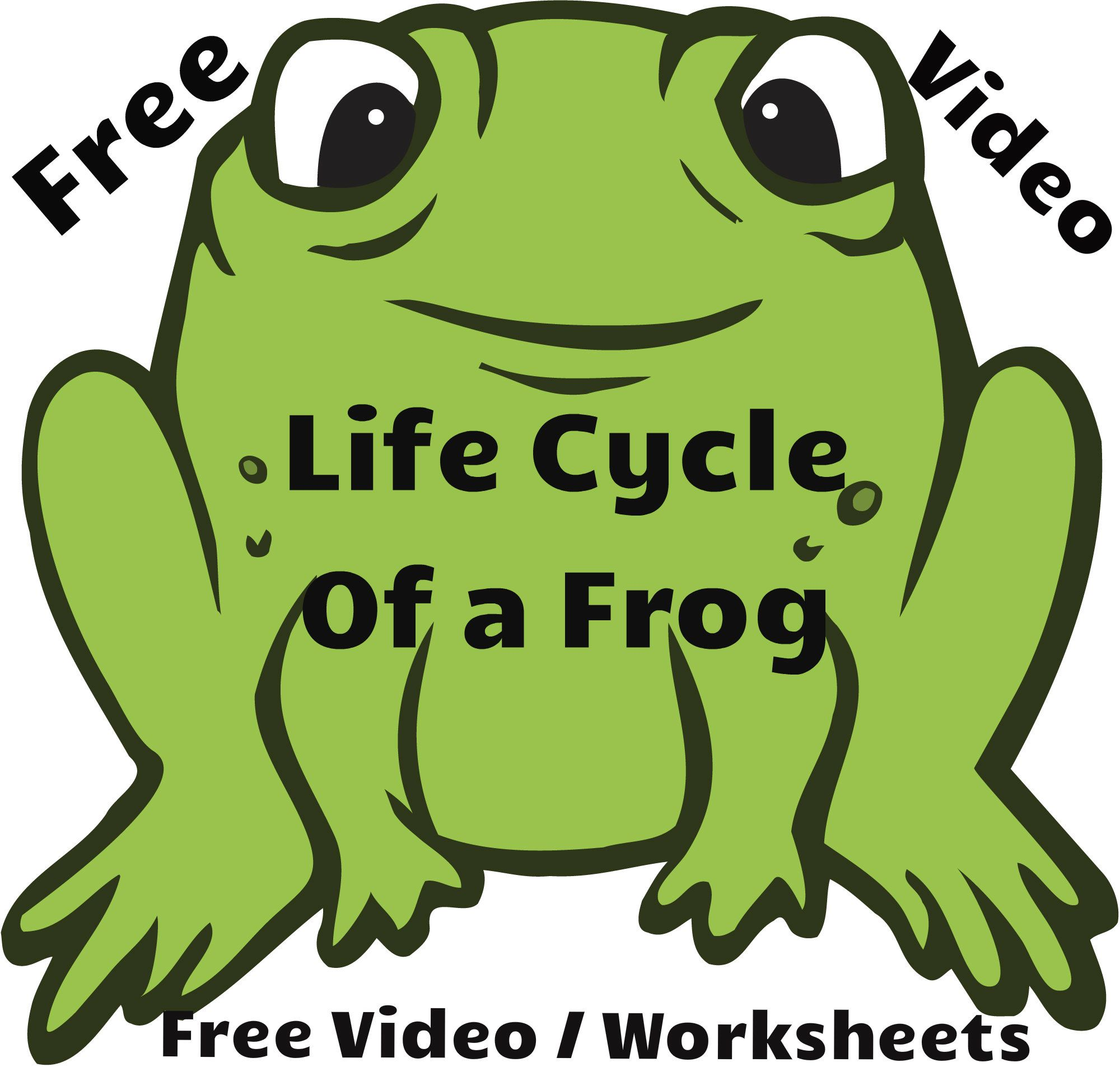 Free Video Lesson Life Cycle Of A Frog Along With The