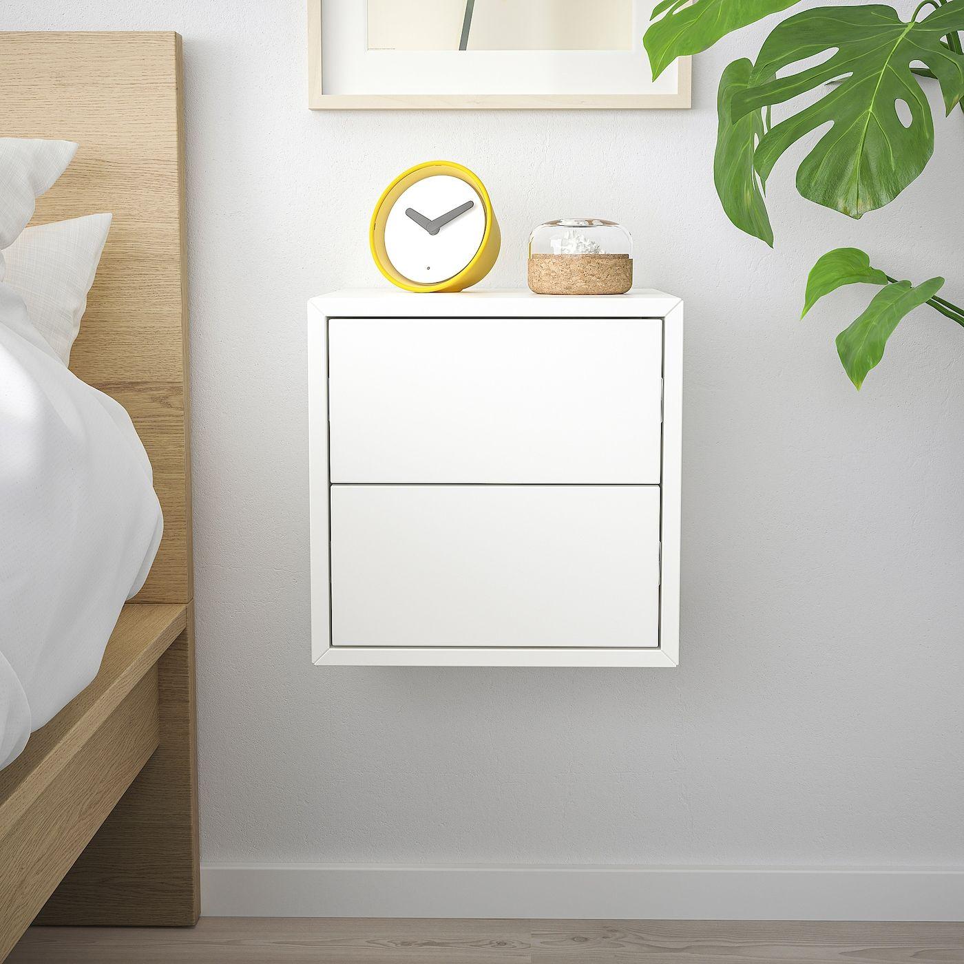 Eket Wandschrank Mit 2 Schubladen Weiss Ikea Osterreich In 2020 Eket Ikea Eket Floating Nightstand Ikea