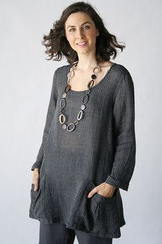 c9cc128d39e Product image: Slouch Tunic in Flax Transition 2015 [FLAX Clothing NEW ]