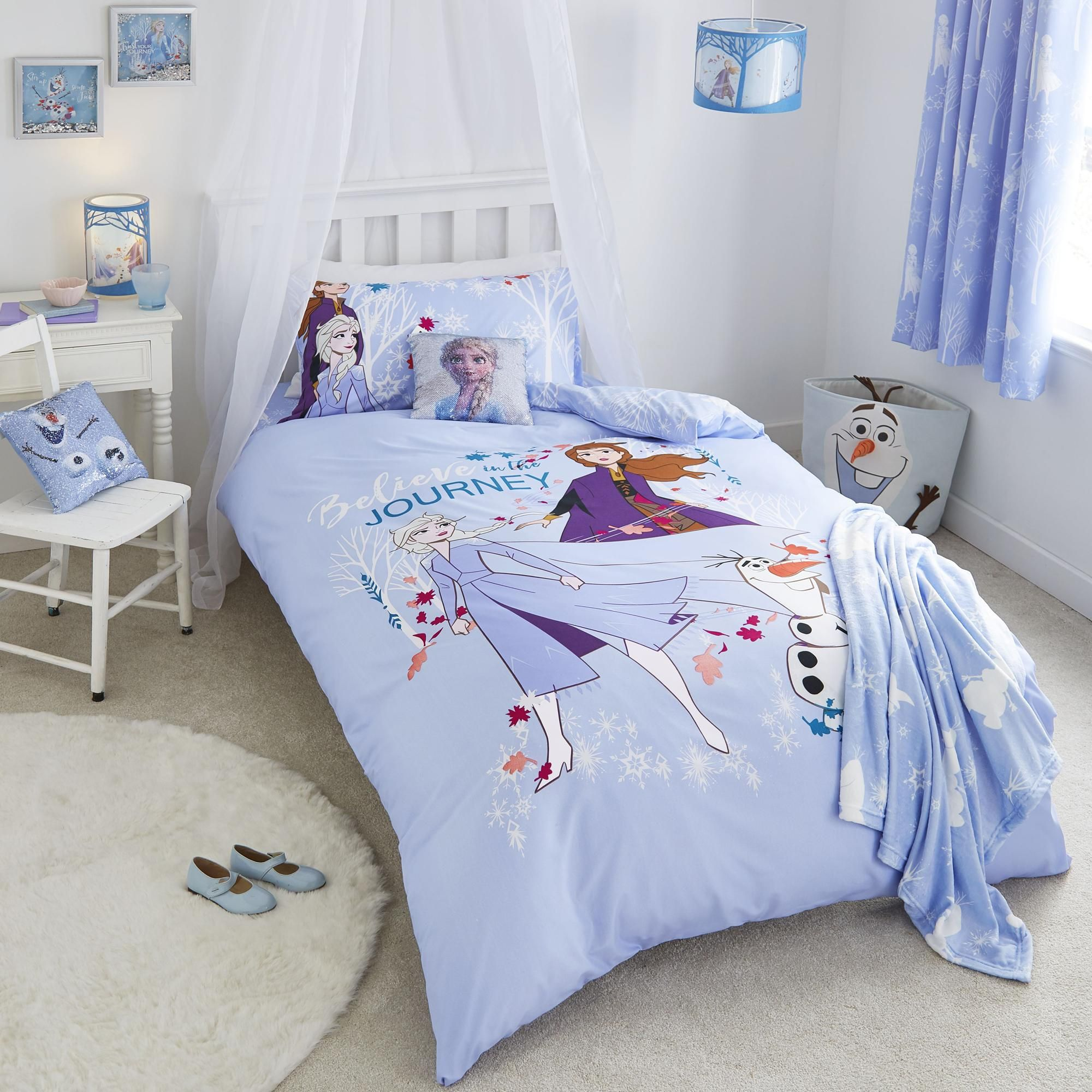 Frozen 2 Table Lamp Frozen Bedroom Frozen Girls Room Frozen Themed Bedroom