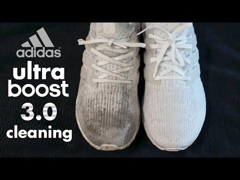 64c3eea382e 1) The Best Way Possible to Clean Adidas White Ultraboost! - YouTube ...