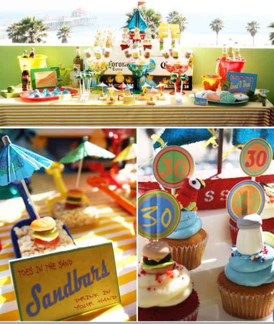 Jimmy Buffet Themed Party Birthday Toes In The Sand Drink Your Hand What A Fun Beach For Adults Style