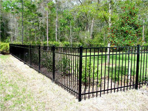 Best 72 H X 72 W Aluminum Fence Section 4 Rail At Menards 400 x 300