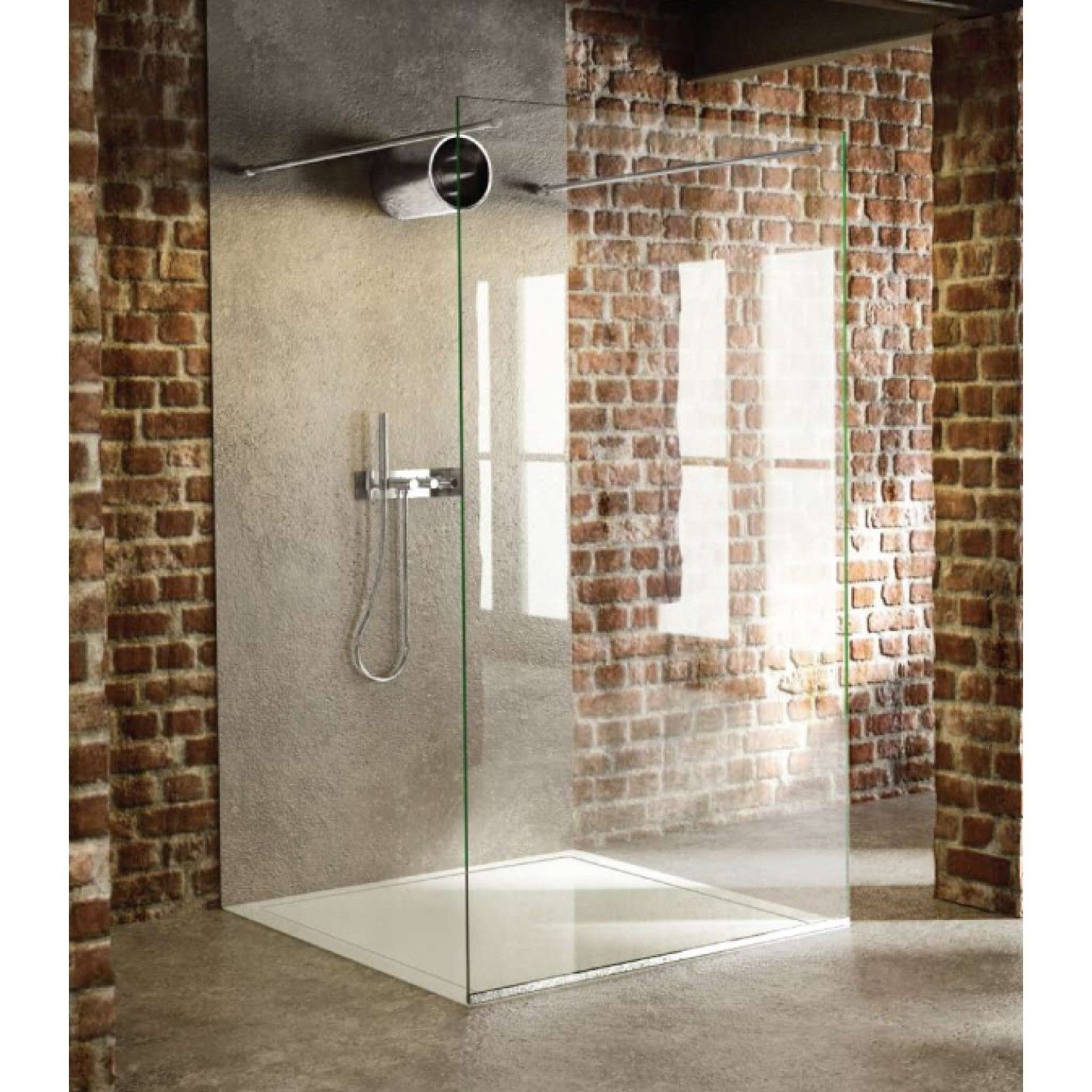 Fixed Panel | The Shower Lab Tantalum 20 Free Standing