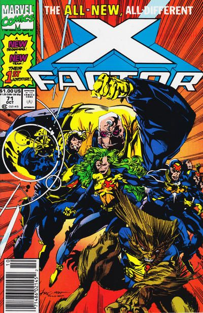 Gcd Cover X Factor 71 Marvel Comics Covers Marvel Comics Comics