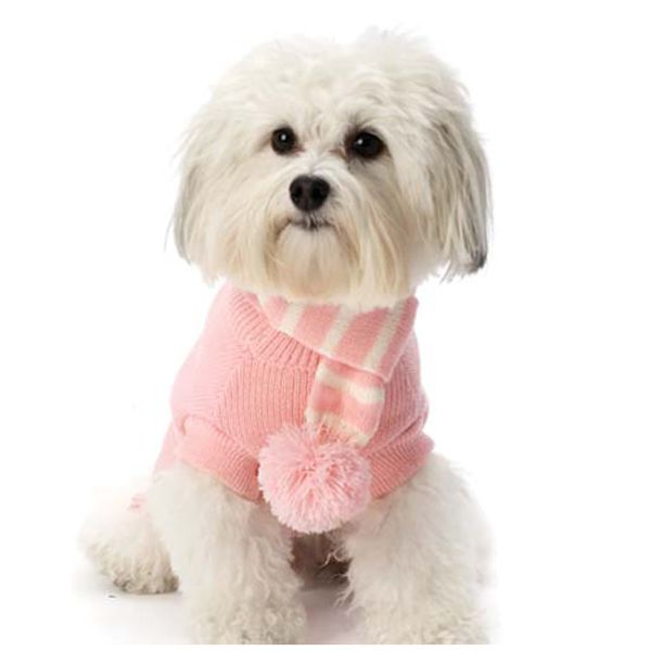 2b20cc6301ef Frosty s Snowflake Dog Scarf - Peaceful Pink