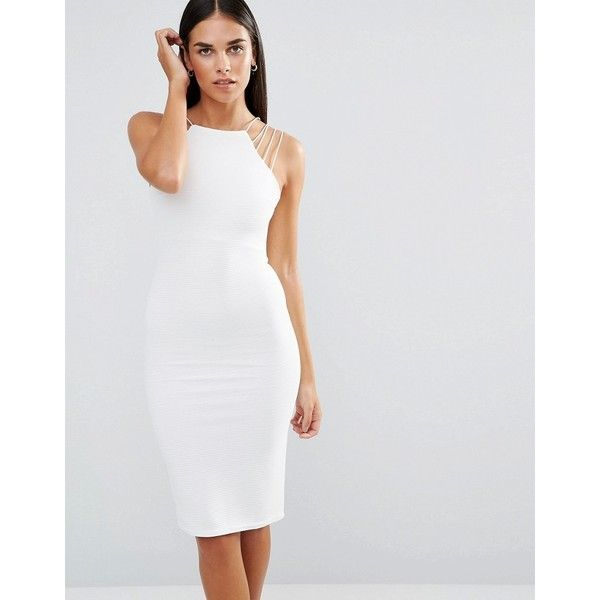 Naven bombshell dress white uniform