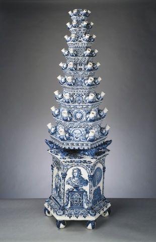 Delfts Blauw Tulip Vase Adriaen Kocks D 1701 Must Be Blue