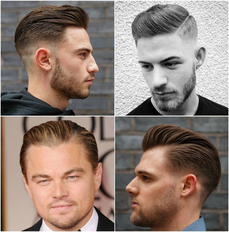 Sleek Look Männer Undercut Mit übergang Trendfrisur #frisuren