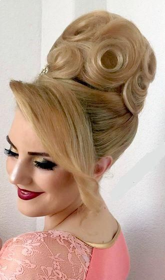 Pin By Zsofia Pink On Bun Hairstyles