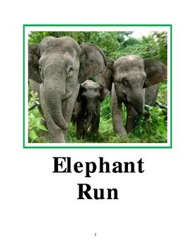 Elephant Run Literature Guide Education And Literacy Elephant Upper Elementary Literacy