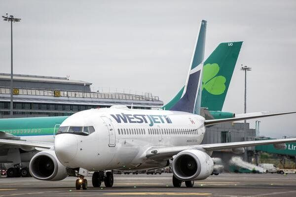 Westjet Arrives In Europe After Dublin Debut Dublin Low Cost Carrier Canadian Pacific