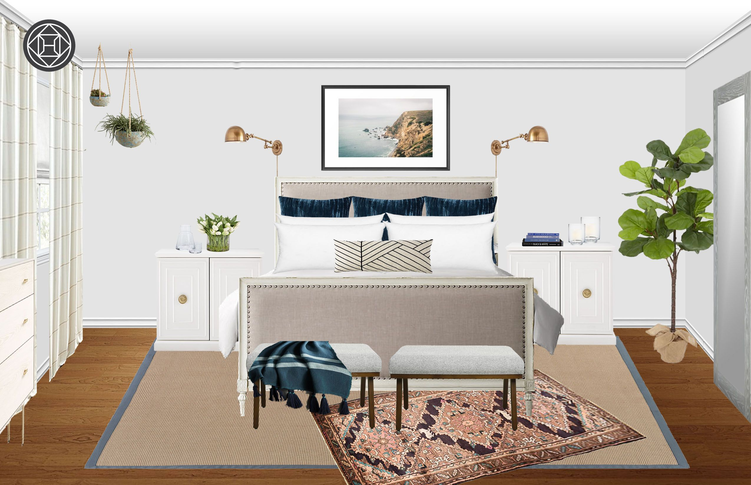 Bedroom By Havenly