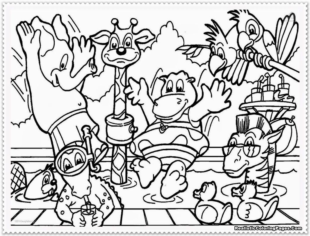 Superieur Zoo Animals Free Printable Coloring Pages