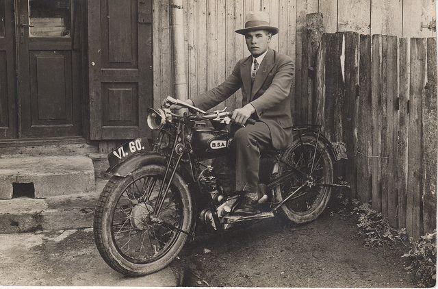 Bsa Motorcycle 1930 Bsa Motorcycle Old Motorcycles Classic Bikes