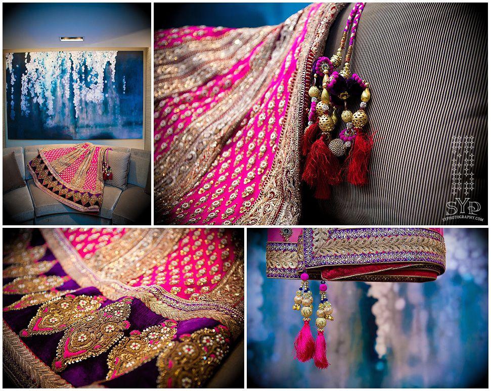 #indianwedding bride's  #lehenga    http://syphotography.com