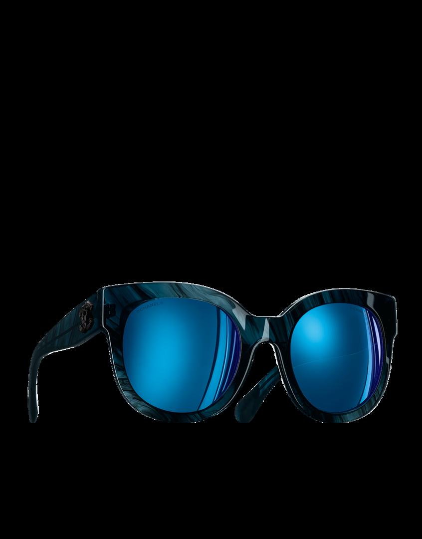 9896548d269 CHANEL Fashion - Butterfly sunglasses. PapillonsLunette PapillonBleu ...
