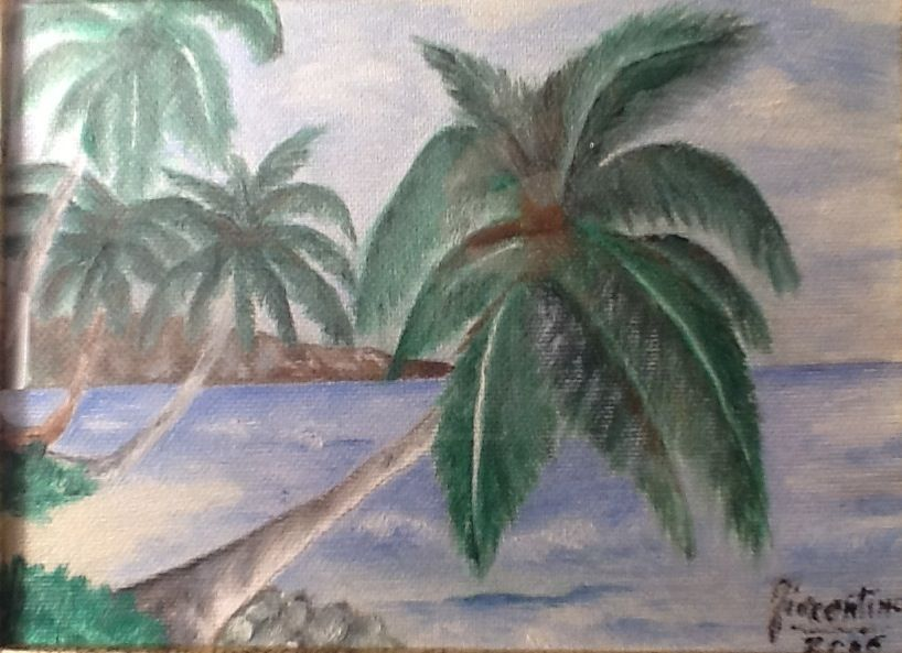 Paesaggio marino tropicale (miniatura)