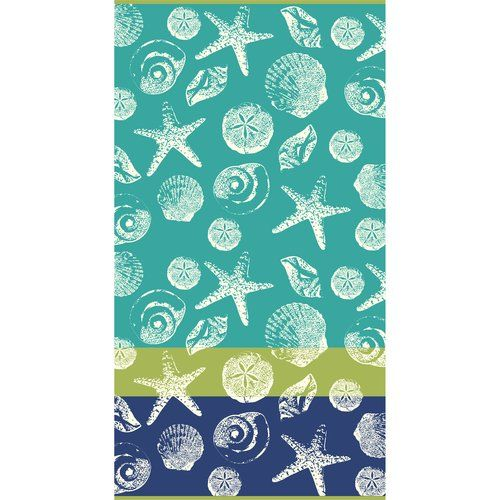 Tossed Shells Beach Towel Walmart With Images Beach Towel