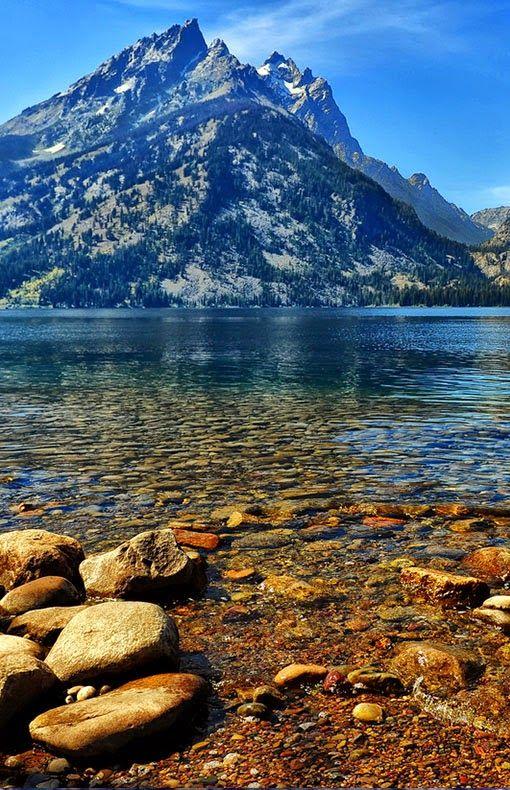 Jenny Lake, Grand Teton National Park,f Wyoming - holidayspots4u